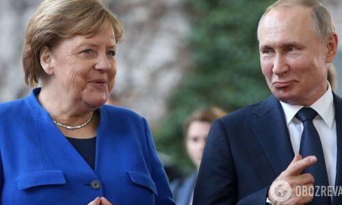 Гончаренко почув позитивну відповідь Меркель на питання, чи вважає вона Путіна «vбиvцею»