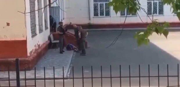 В Чорноморську муніципальна охорона влаштувала в школі стрілянину