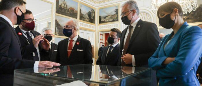 Президенти України, Польщі, Естонії, Литви й Латвії зробили спільну заяву