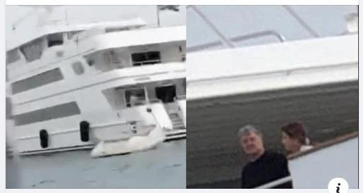 «Петро забери свої абрикоси назад»: Хлопці з АТО пробрались до яхти Порошенка. Чим дуже злякали Марину. ВІДЕО