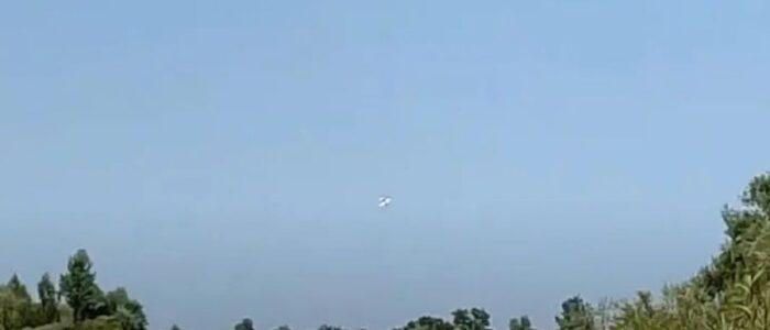 У Мережу виклали відео останніх секунд перед катастрофою літака на Прикарпатті